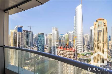 1 Bedroom Apartment for Rent in Jumeirah Lake Towers (JLT), Dubai - 1 Br with balcony Available from mid Jan