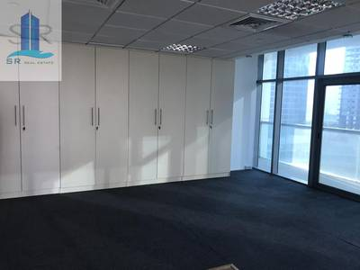 Office for Rent in Jumeirah Lake Towers (JLT), Dubai - Beautiful Fully Fitted Office Lake View With Balcony Ready To Move