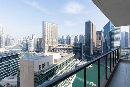 2 Bedroom Flat for Rent in Dubai Marina, Dubai - 2 Bedroom | Large Balcony | Marina View.