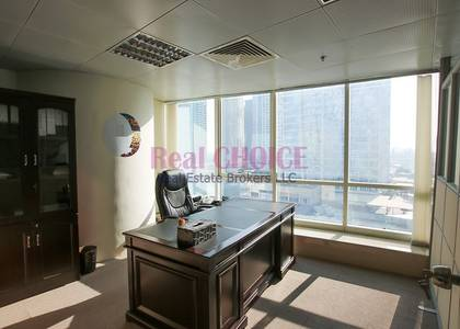 Office for Rent in Jumeirah Lake Towers (JLT), Dubai - Lovely Marina View|Fully Fitted Office