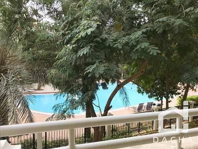 2 Bedroom Flat for Sale in Green Community, Dubai - Pool view / Northwest  / Rented / 2 parkings