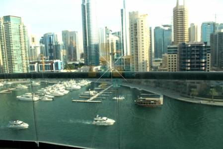 1 Bedroom Apartment for Rent in Dubai Marina, Dubai - With amazing full Marina view 1 bedroom in The Point tower.