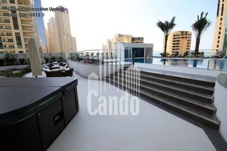 1 Bedroom Flat for Rent in Dubai Marina, Dubai - 1 bedroom on high floor with Great views