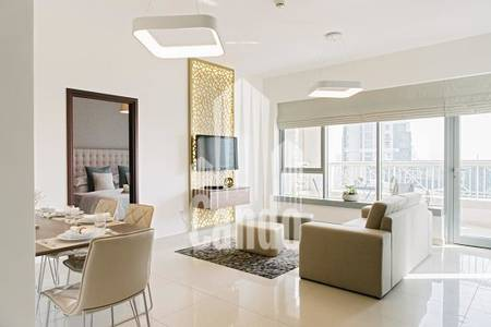 2 Bedroom Apartment for Rent in Dubai Marina, Dubai - High Floor with sea view in Botanica Tower