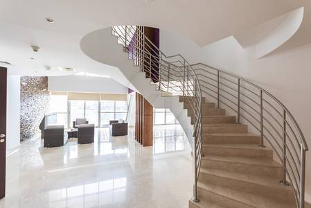 4 Bedroom Penthouse for Rent in Dubai Marina, Dubai - Spacious 4BR plus Maid Penthouse Marina View
