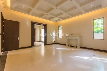 5 Bedroom Villa for Rent in Al Barari, Dubai - Mint Condition | Direct Access to a Pond