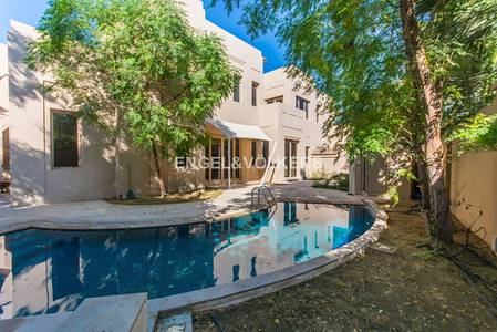 5 Bedroom Villa for Sale in Al Barari, Dubai - Mint Condition | Direct Access to a Pond