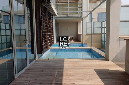 تاون هاوس  للايجار في شاطئ الراحة، أبوظبي - Luxury and Elite Furnished Townhouse!!!!