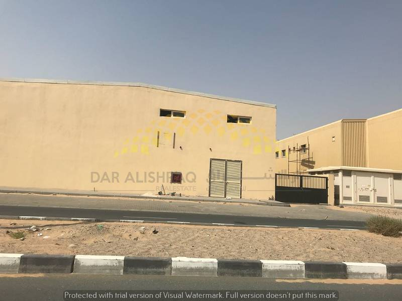 Brand new  Warehouses   with high voltage in Sajaa  Emirates industrial city area for sale