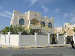Stunning 7 bedroom villa with 4 master rooms very good condition and beautiful location is available for sale in sharqan area