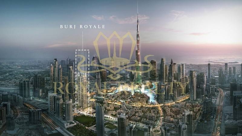 2 Panoramic Burj Khalifa View- Burj Royale
