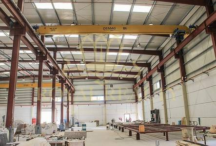 Warehouse for Sale in Dubai Investment Park (DIP), Dubai - 12M + Cranes | Very good Condition | 750 KW
