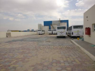 Industrial Land for Rent in Al Saja, Sharjah - 40000/24000/20000/12500/10000 sqft open yard 3 phase power boundary wall in saja, sharjah