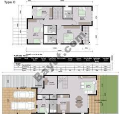 Floorplan_Ground and 1st Floor_Type C