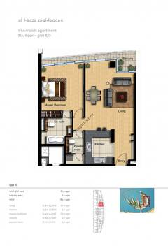 1-Bedroom-Apartment-Plot-512-Type-1C