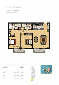 2-Bedroom-Apartment-Plot-601-Type-2I