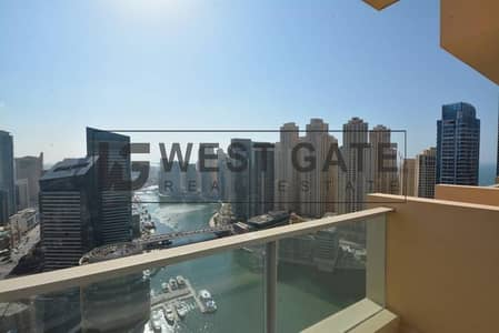 Furnished 1 BR - High Floor- and Marina Views - TADM