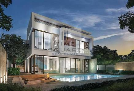 4 Bedroom Villa for Sale in DAMAC Hills (Akoya by DAMAC), Dubai - FULLY FURNISHED GOLF COURSE 4BR VILLA NO DLD NO SERVICE CHARGES 3YERS PAYMENT PLAN