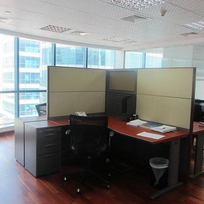 Office for Rent in Jumeirah Lake Towers (JLT), Dubai - Furnished & Fitted Office Space in Jumeirah Bay X2