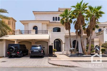 5 Bedroom Villa for Sale in Palm Jebel Ali, Dubai - Dacha Exclusive / Bespoke G + 2 Villa / BUA 7000 SFQT / Extended Plot