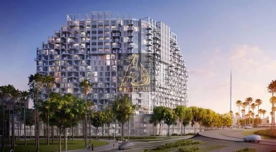 2 Bedroom Flat for Sale in Bur Dubai, Dubai - Pool View  Studio Apartment in Dubai Healthcare City  Pay 50% On Handover