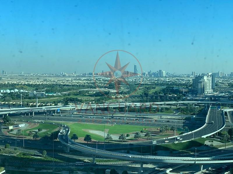 2 10 Series on High floor with Partial Golf Course & Shk Zayed Road