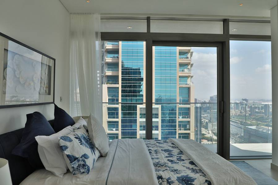 Ready to Move-In Luxury Duplex Penthouse in the Residences at Marina Gate