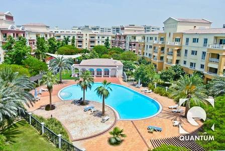 1 Bedroom Flat for Sale in Green Community, Dubai - Full Pool View - High Floor | Vacant Now