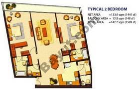 2 Bedroom (Type 2)