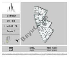 1 BR - Unit - 08 - L 04 - 18