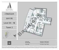 2 BR - Unit - 06 - L 04 to 18