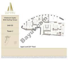 4BR - Unit 03 - 20th Floor