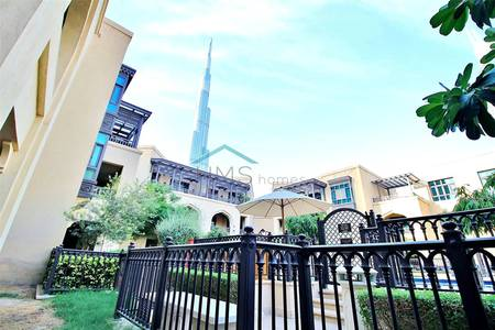2 Bedroom Apartment for Sale in Old Town, Dubai - Attareen | Garden Unit | Burj Khalifa view