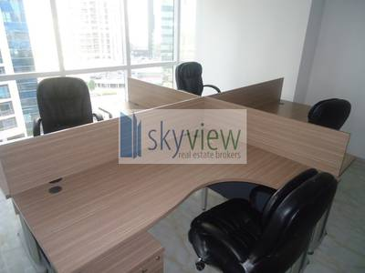 Office for Rent in Jumeirah Lake Towers (JLT), Dubai - Semi fitted Office|Near metro|1 month free