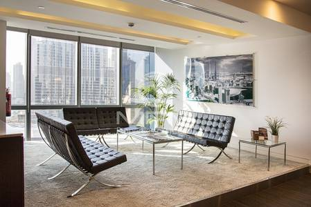 Office for Sale in Downtown Dubai, Dubai - Signature office location fitted office for sale in Down Town Dubai