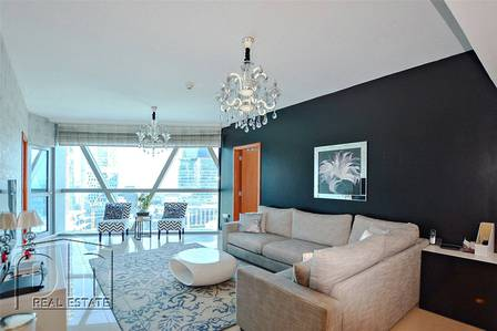 3 Bedroom Apartment for Sale in DIFC, Dubai - Fully Furnished 3BR + M | Vacant | Upgraded