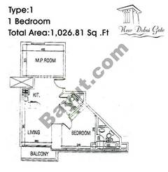 Type 01 1 Bedroom