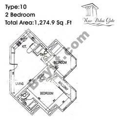Type 10 2 Bedroom