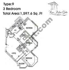 Type 09 3 Bedroom