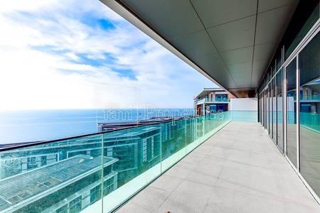 بنتهاوس 5 غرف نوم للبيع في جزيرة بلوواترز، دبي - Best Units|High Floor|Unobstructed Views