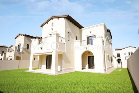 4 Bedroom Villa for Sale in Arabian Ranches 2, Dubai - Single Row | Type 1 | Dark wood  | 4 bed