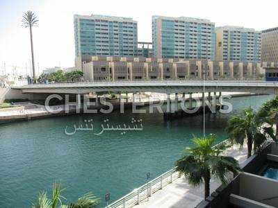 4 Bedroom Townhouse for Rent in Al Raha Beach, Abu Dhabi - Partly Furnished I Canal View I Private Pool
