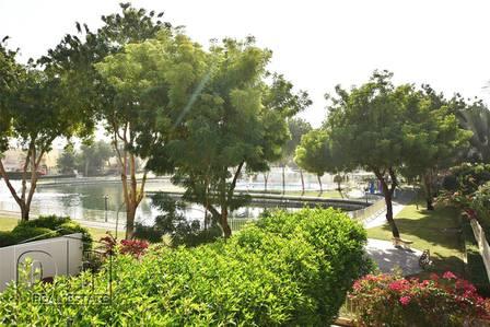 فیلا  للايجار في الينابيع، دبي - Springs 4 | 2M | Full Lake View | Vacant