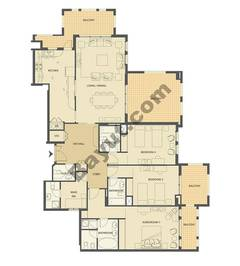 3 bedroom- 2022sqft