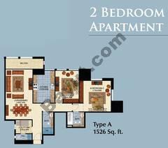 Type A 2 Bedroom Apt