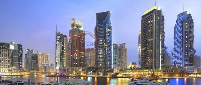 1 Bedroom Apartment for Rent in Dubai Marina, Dubai - Marina View|Large 1B/R+Hall Dubai Marina