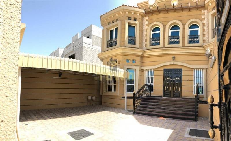Pvt Entrance 5 Beds + Maid Villa In Khalifa City A