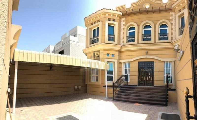 11 Pvt Entrance 5 Beds + Maid Villa In Khalifa City A