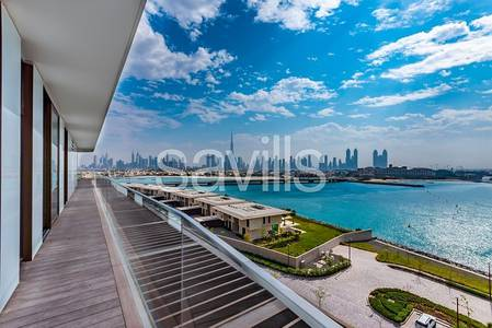 4 Bedroom Penthouse for Sale in Jumeirah, Dubai - Lux 4 bed |Bvlgari Penthouse | Full Floor | Yacht Bay |Pool