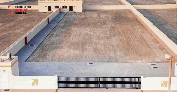 ارض تجارية  للايجار في مدينة الإمارات الصناعية، الشارقة - @ 10 AED/sq.ft Brand-New Commercial Open Yard
